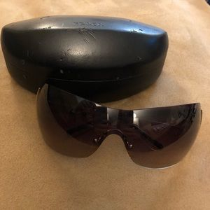 Prada Tortoise/Gold Sunglasses